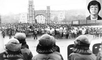 (25) Student protesters led democracy movement