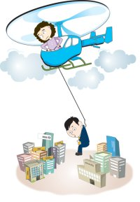 Helicopter parents: in between overprotection, assistance