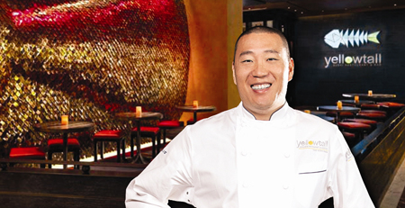 Chef back presents korean flavor in freestyle for Akira japanese cuisine nyc