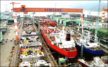 Korean Shipbuilders Meet China's Challenge