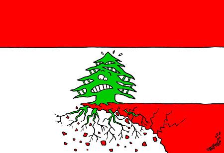 deforestation in lebanon