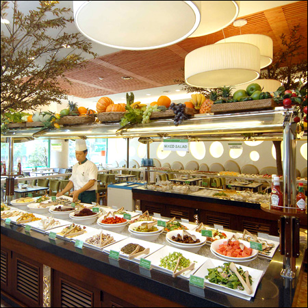 Salad bar buffet deals