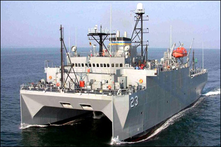 the USNS Impeccable