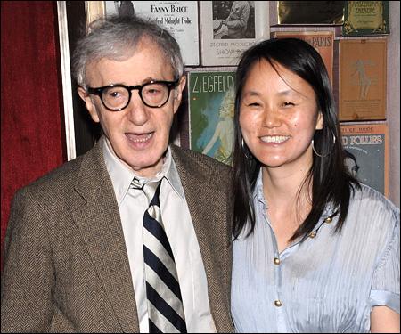 Director Woody Allen a...