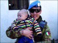 Italy Active in Intl Peacekeeping Operation