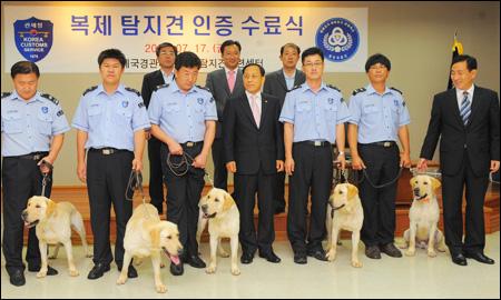 Korea customs service