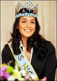 Miss World Kaiane Aldorino to Judge Mr World 2010