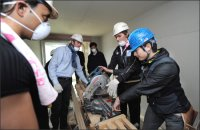 Participants Lend Helping Hand in Building Houses