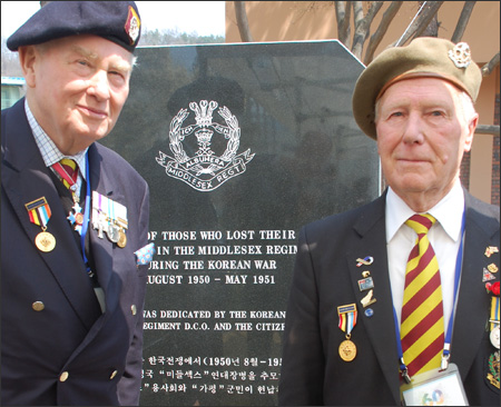 Commonwealth Veterans Visit Korea
