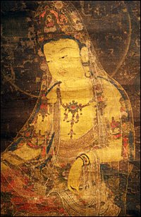 What do Goryeo buddhist paintings tell us about Goryeo people?