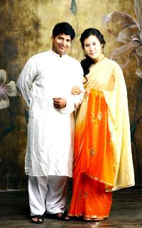 Seikh Imtiaz Ali And Yun Sue Kyung