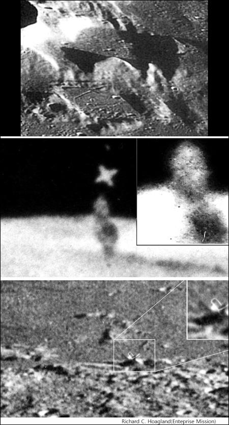 signs of alien civilization on moon