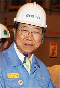 POSCO's soft-spoken leader