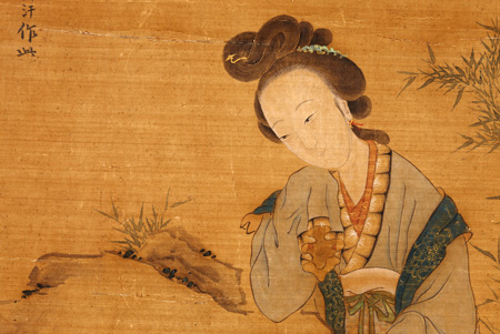 ancient chinese paintings come to life in korea