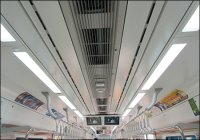 [HS] Eye-friendly LED lights in subway cars