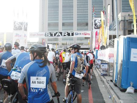Argus Cycle Tour Start Times
