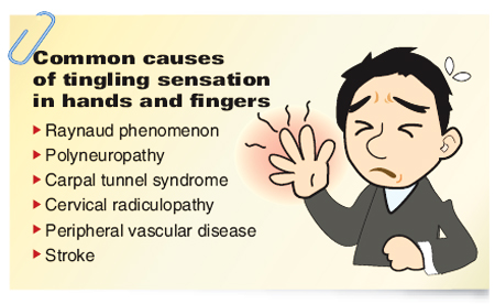 Common causes of tingling in hands and fingers