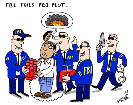 FBI foils FBI plot