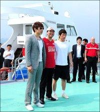 [HS]Seoul Mayor Oh Se-hoon, center, Manchester United