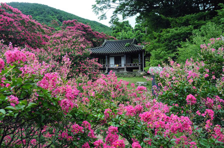 The Joseon Era Garden Of Myeongokheon In Damyang South Jeolla Province Shows Simple And Natural Designs Courtesy County