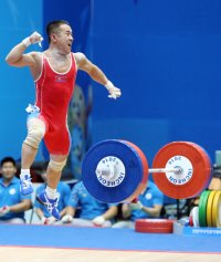 North Korean weightlifter Um Yun-chol