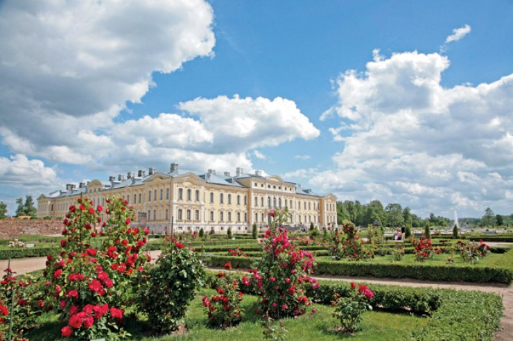 The Rundale Palace in Latvia / Courtesy of the Lativian Embassy