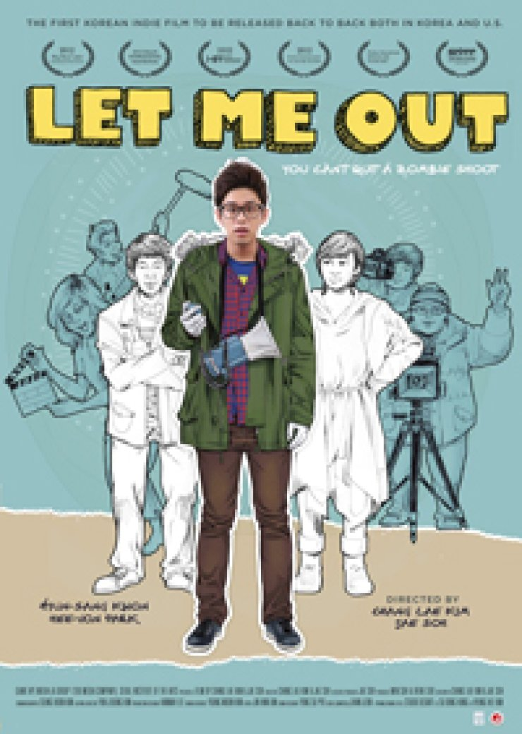 The poster of 'Let Me Out'