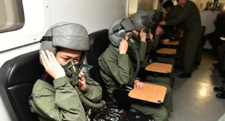 Defying gravity: Air Force pilots' rigorous training
