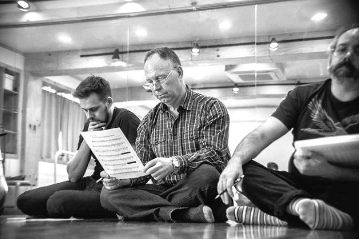 Members of Seoul Shakespeare Company (SSC) rehearse for 'Much Ado About Nothing.'/ Courtesy of SSC