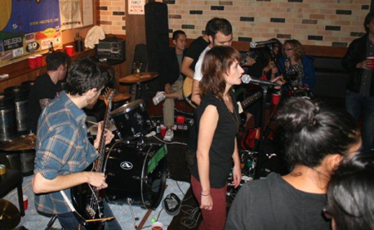 A band performs at Phillies at the Hae Bang Chon May Fest 2014. / Courtesy of Lance Reegan-Diehl