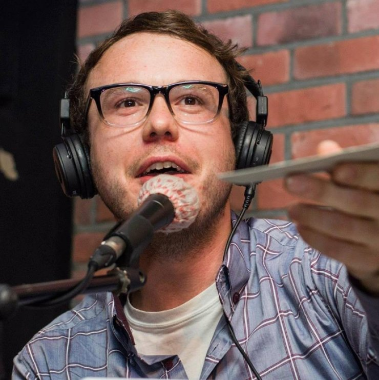 Podcaster Chance Dorland  / Courtesy of Clayton Jones