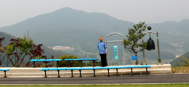 Kim Pyung-il, president of Canaan Farmers' School /  Korea Times