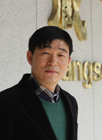Chief researcher Kim Hak-su of Academy of Korean Studies