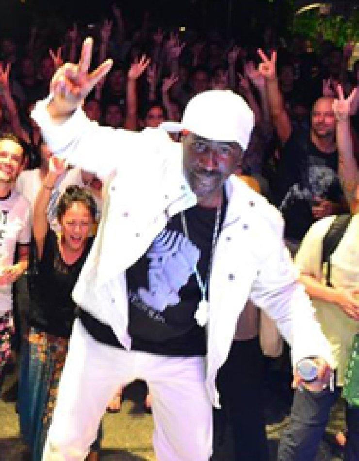 Reggae singer Pato Banton