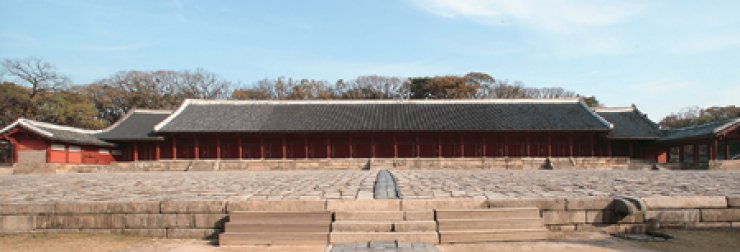 Jongmyo Shrine is a Royal Ancestral Shrine that symbolized the Joseon Kingdom. / Courtesy of Academy of Korean Studies