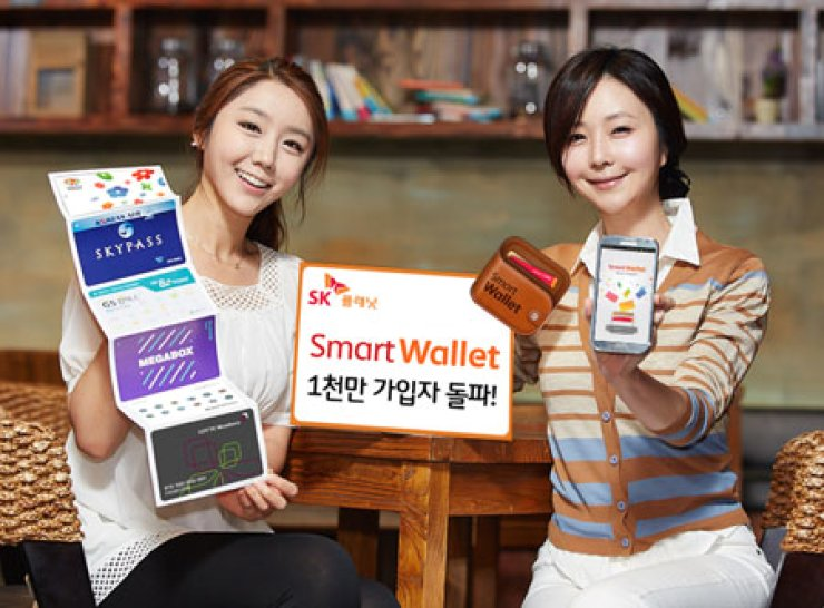 SK Planet said Thursday that users of its popular 'Smart Wallet' app have topped 10 million in June, three years after its launch. / Courtesy of SK Planet