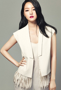 Korean fashion model