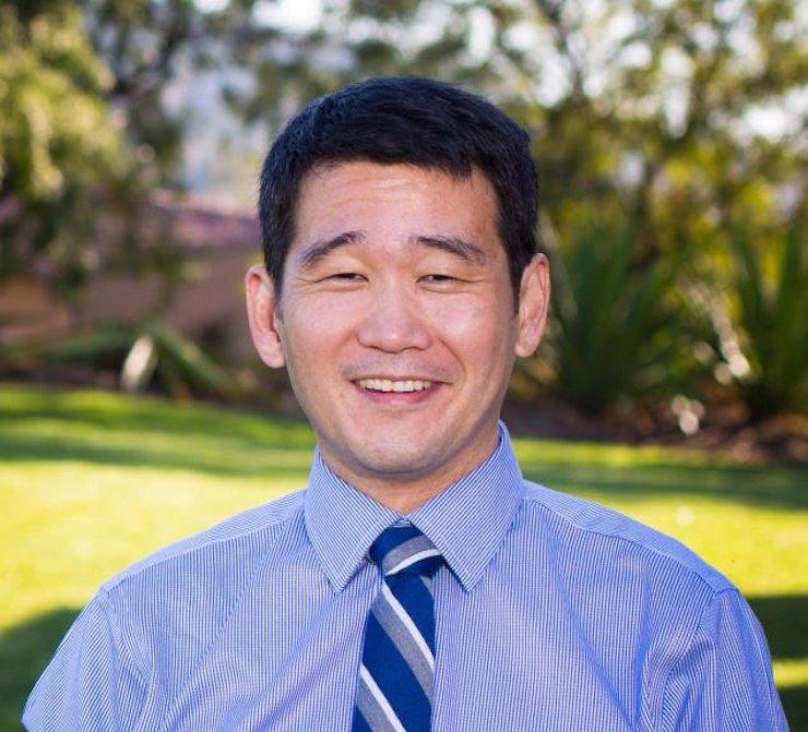 UC Irvine law professor David Min, a democrat / Courtesy of David Min