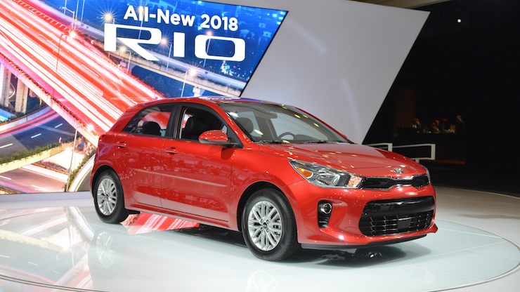 kia rio hb 2018. wonderful rio the 2018 kia motors rio hatchback  courtesy of with kia rio hb