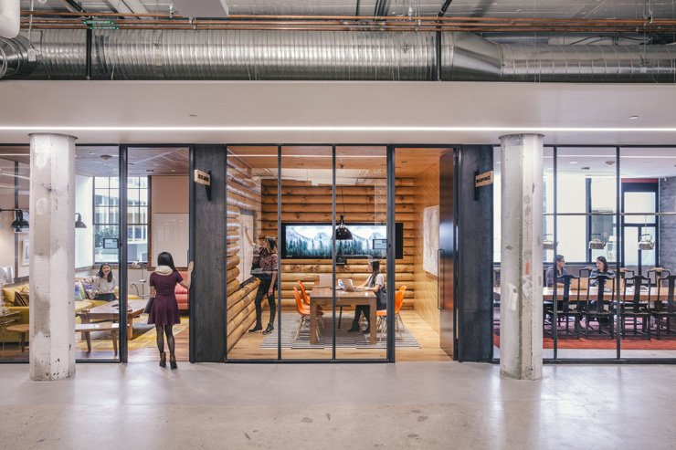 The Airbnb headquarters in San Francisco / Courtesy of Airbnb