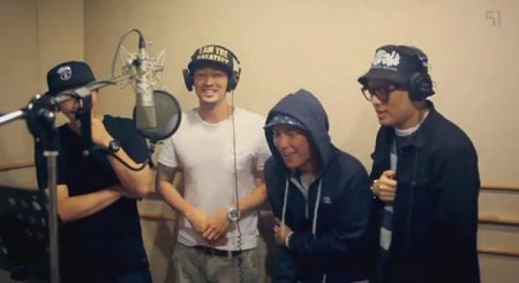 So Ji-sub, second from left / Courtesy of YouTube