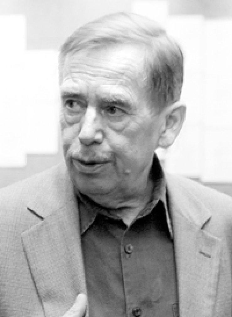 Vaclav Havel (1936-2011), former president of the Czech Republic and leader in the Velvet Revolution for democracy.
