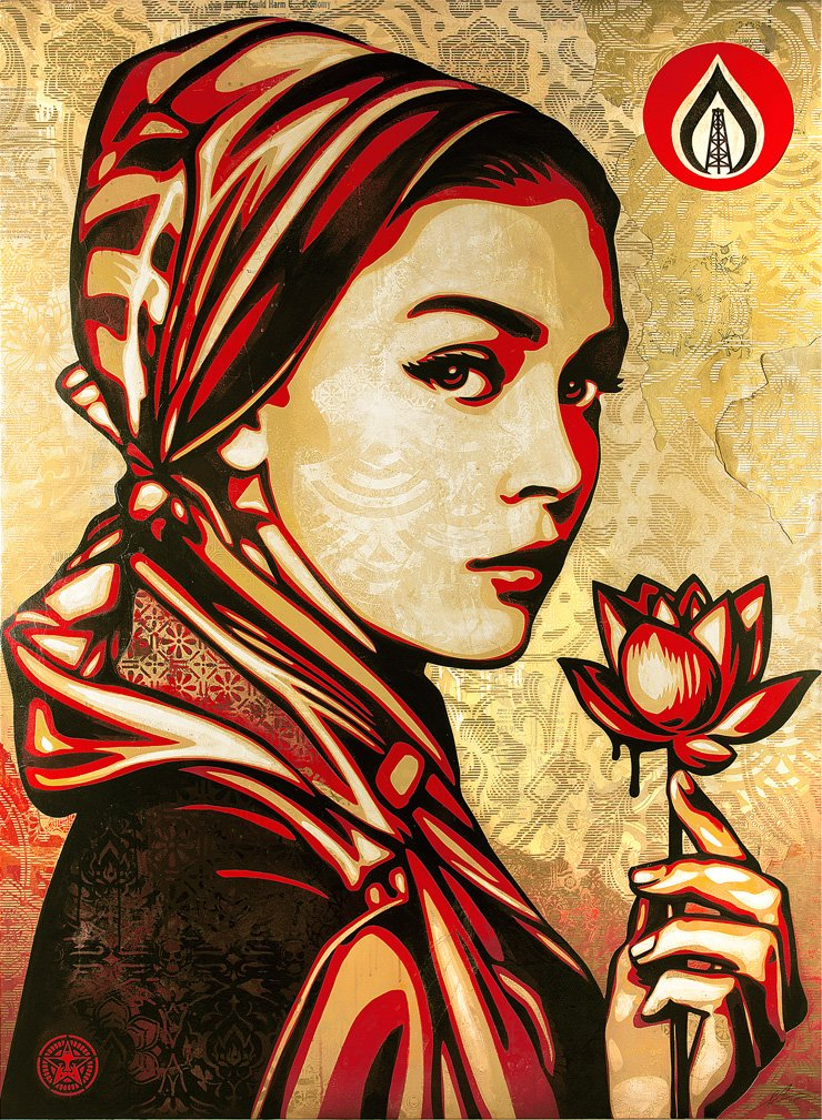 'The Great Graffiti: Peace & Justice'The works of graffiti artist Shepard Fairey will be exhibited at Hangaram Art Museum until April 30. / Courtesy of Seoul Arts Center