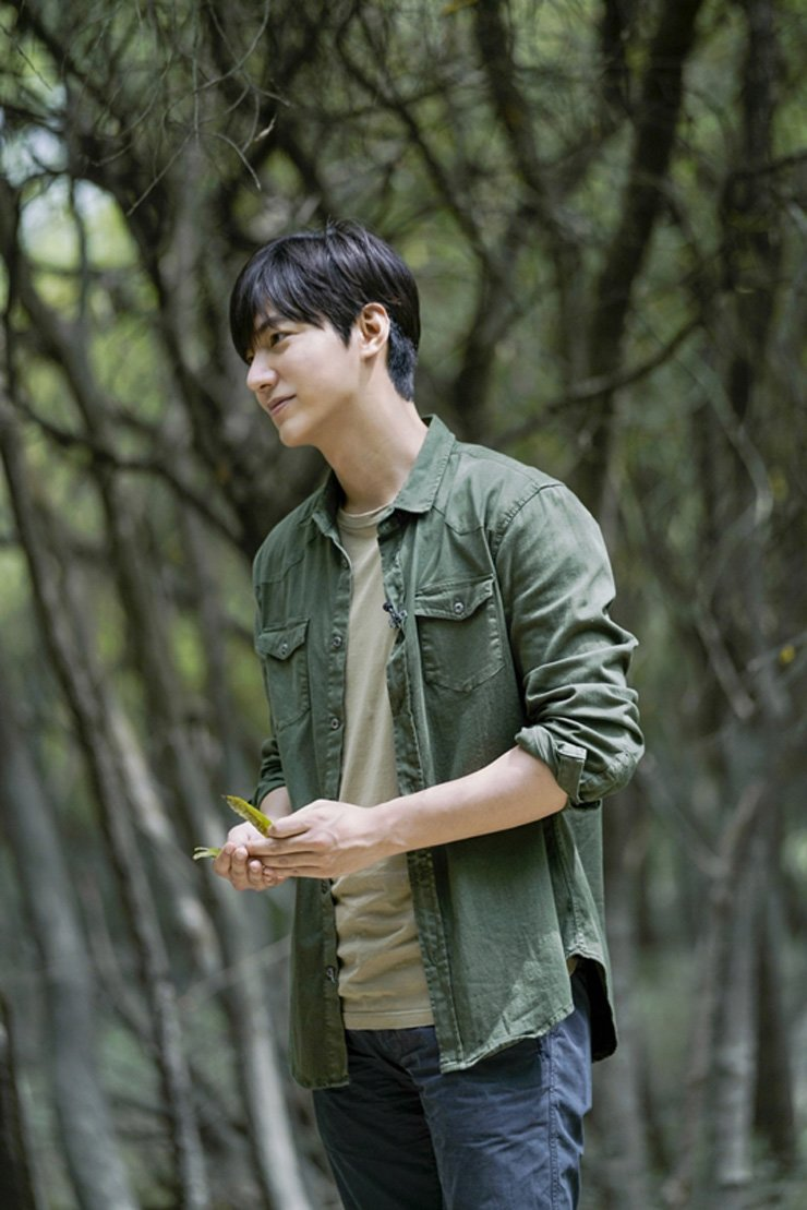 Actor Lee Min-ho from MBC's documentary 'DMZ, the Wild'      /Courtesy of MBC
