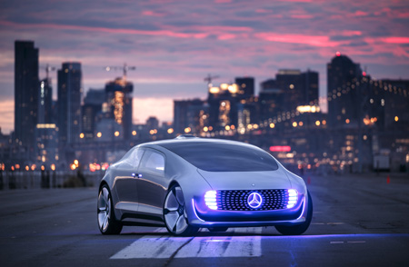 Mercedes on road to autonomous driving for Mercedes benz autonomous driving