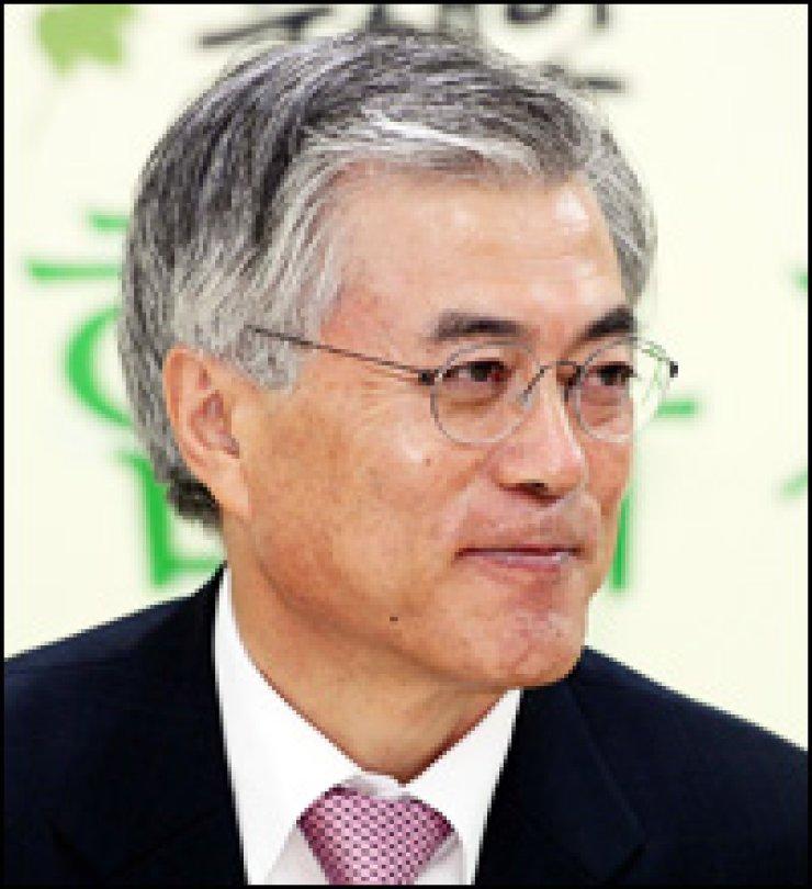 Moon Jae-in Ahn Cheol-soo