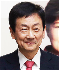 Kim Yong-jun, chairman of the presidential transition teamChin Young, vice chairman of the transition team