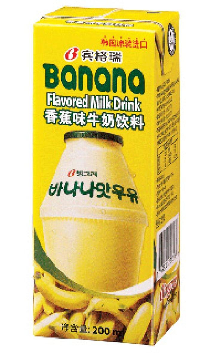 Why Chinese Like Banana Milk