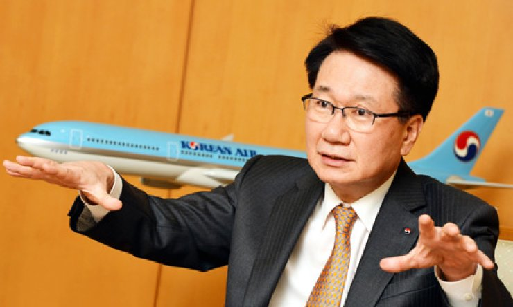 Chi Chang-hoon, Korean Air president and COO                                                                      / Korea Times photo by Shim Hyun-chul