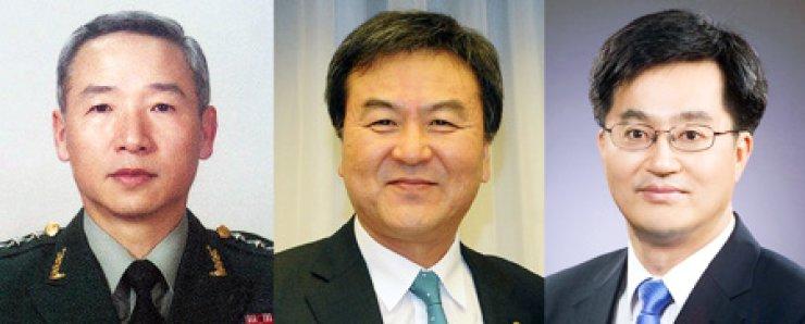 Nam Jae-joon     NIS chief nominee      Shin Je-yoon       FSC chief nominee       Kim Dong-yeonPM Office chief nominee